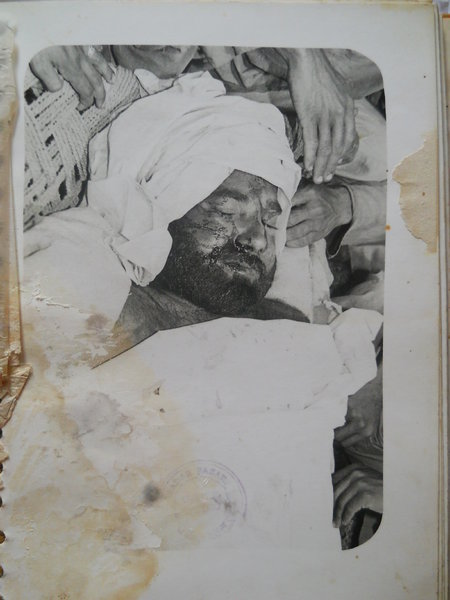 Photo of Maggar Singh, victim of extrajudicial execution on April 04, 1983, in Malerkotla, by Punjab Police