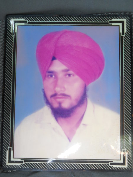 Photo of Darshan Singh, victim of extrajudicial execution between May 1, 1995 and May 31,  1995, in Longowal, Sunam, Bhawanigarh, Sangrur,  by Punjab Police; Central Reserve Police ForcePunjab Police