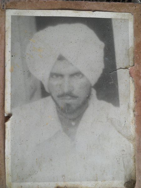 Photo of Bhura Singh, victim of extrajudicial execution between April 1, 1987 and April 13,  1987, in Sangrur, by Punjab Police