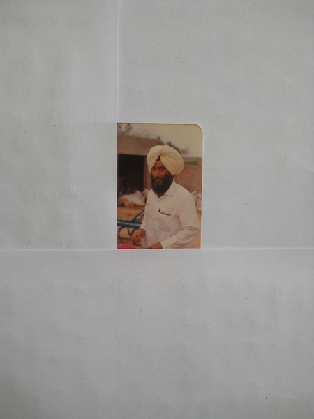 Photo of Kartar Singh, victim of extrajudicial execution between December 21, 1992 and December 22,  1992, in Handiaya CIA Staff,  by Criminal Investigation Agency, in Handiaya CIA Staff, by Criminal Investigation Agency