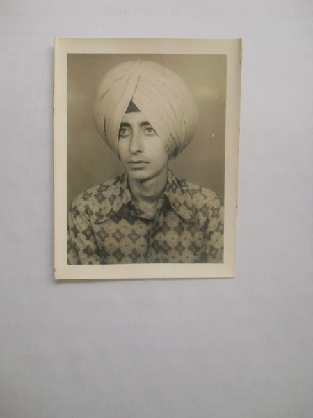 Photo of Umarpal Singh, victim of extrajudicial execution on August 2, 1990 by , in Zira, by