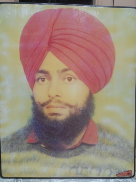 Photo of Kulwinder Singh, victim of extrajudicial execution between August 14, 1993 and August 20,  1993, in Longowal, by Punjab Police
