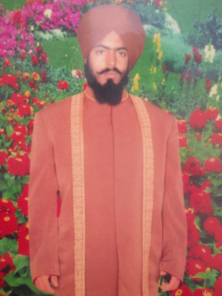 Photo of Santokh Singh,  disappeared on July 4, 1991, in Balianwala,  by Punjab Police
