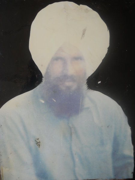 Photo of Mahinder Singh, victim of extrajudicial execution between November 22, 1991 and November 24,  1991, in Bhikhi, by Unknown type of security forces