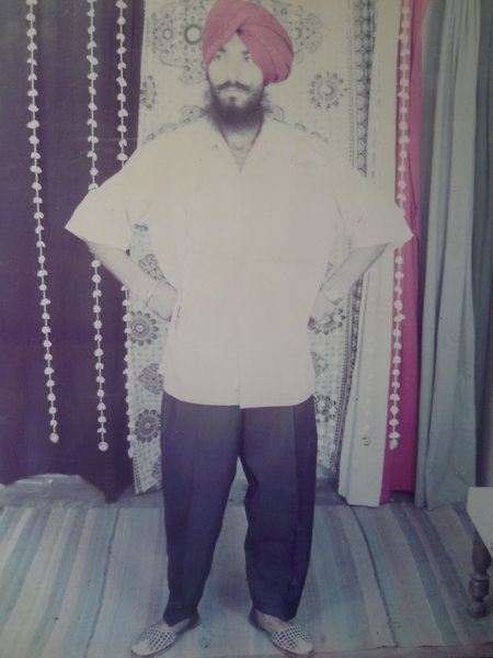 Photo of Dalbir Singh,  disappeared on November 22, 1993, in Amargarh,  by Punjab Police