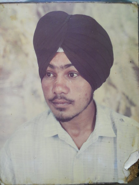 Photo of Gurjant Singh,  disappeared on November 21, 1993, in Amargarh,  by Punjab Police