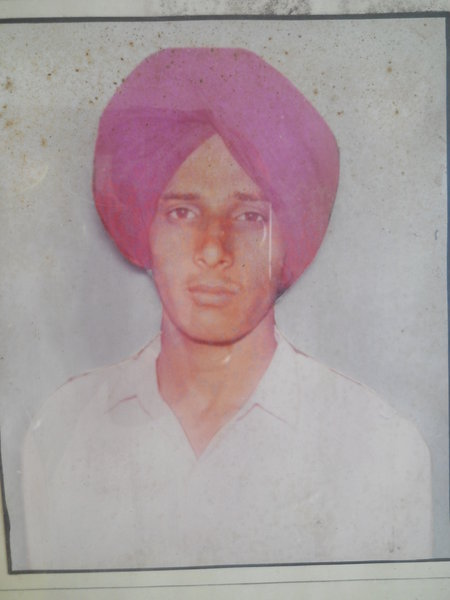 Photo of Sikandar Singh, victim of extrajudicial execution on July 04, 1991, in Sunam, by Punjab Police