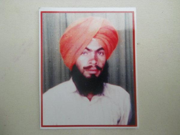 Photo of Babbu Singh, victim of extrajudicial execution on May 05, 1991Punjab Police