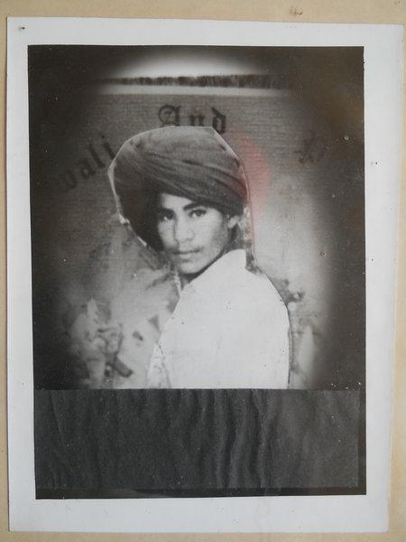 Photo of Seeta Singh, victim of extrajudicial execution on September 01, 1990, in Sandaur, by Punjab Police