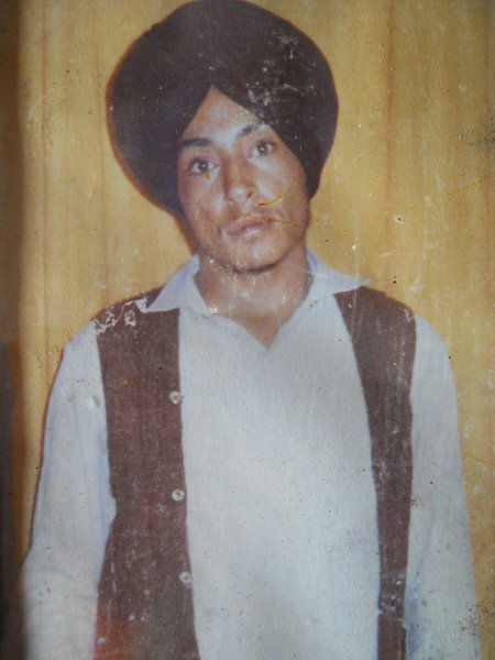 Photo of Ralla Khan,  disappeared between June 1, 1987 and July 30,  1987 by Punjab Police