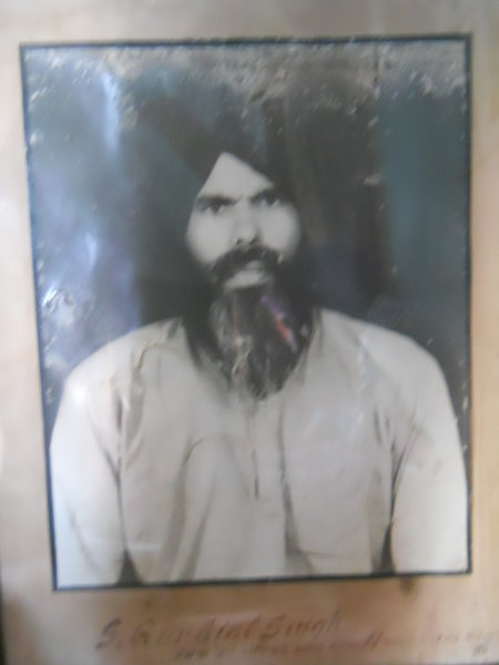Photo of Gurdial Singh, victim of extrajudicial execution on April 04, 1983, in Malerkotla, by Punjab Police