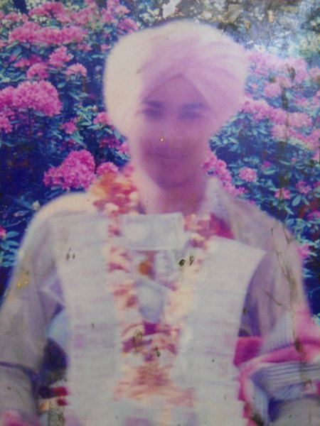 Photo of Jakkar Hussain, victim of extrajudicial execution between April 28, 1991 and April 29,  1991, in Moga, Nihal Singhwala,  by Punjab Police; Central Reserve Police Force, in Moga, Nihal Singhwala, by Punjab Police; Central Reserve Police Force